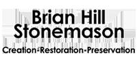 brian hill stone mason Logo